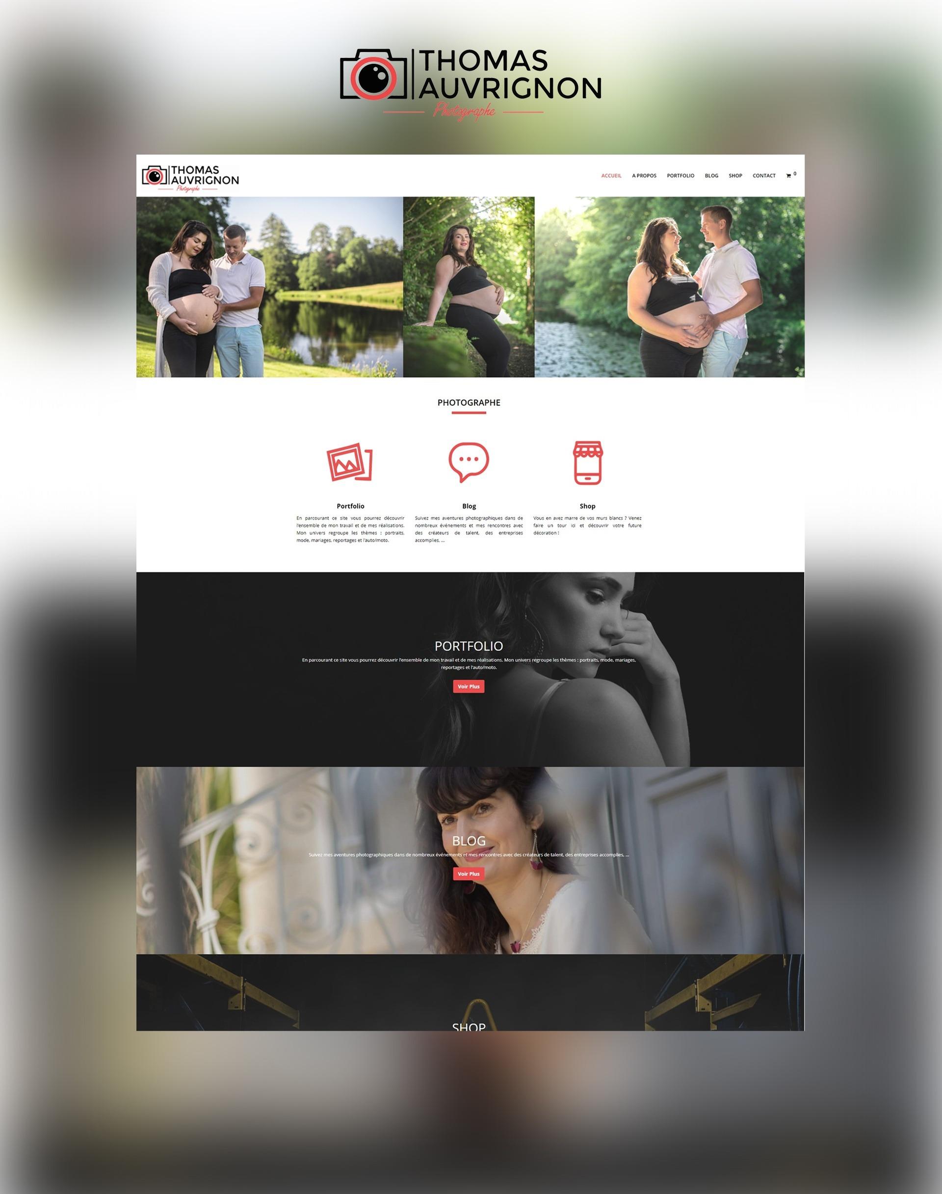 Site internet web Agence communication akagi - Thomas Auvrignon